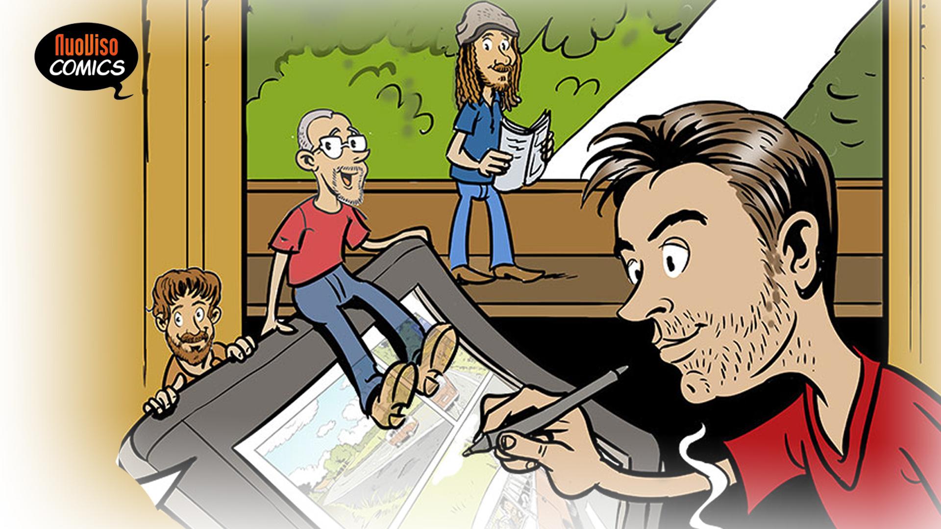 NuoViso Comics – Mit Liebe gezeichnet