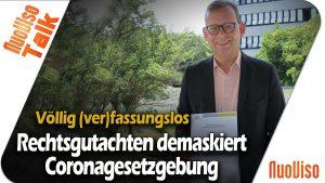 Rechtsgutachten demaskiert Coronagesetzgebung – Andreas Beutel im Gespräch mit Robert Stein