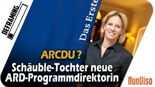CDU-nah: Schäuble-Tochter wird ARD-Programmdirektorin
