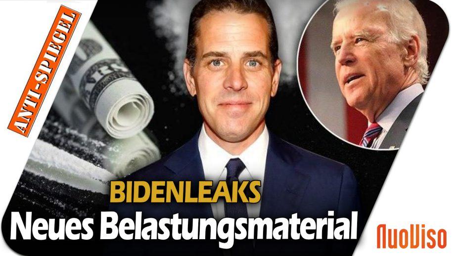 Bidenleaks: Neue Mails belasten Joe Biden, aber die Medien schweigen