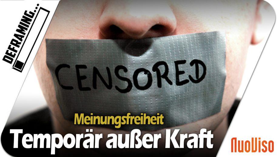 BREAKING: NuoViso 7 Tage für Uploads gesperrt