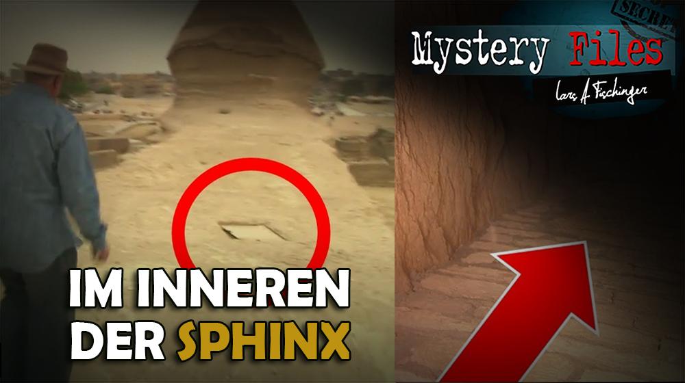 Im Inneren der Sphinx – Von Geheimkammern, Atlantis und Löchern im Fels
