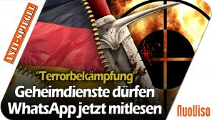 Trotz Verdachts auf Staatsterrorismus: Deutsche Geheimdienste dürfen bald WhatsApp-Chats mitlesen