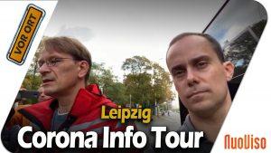 Corona Info Tour: Stop Leipzig