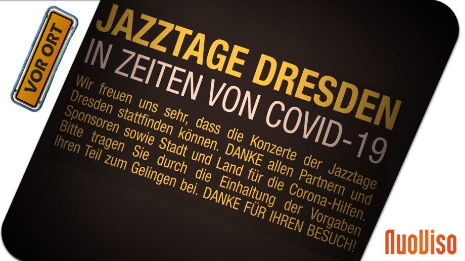 Jazztage 2020 – Ein Bericht über eine außergewöhnliche Veranstaltung