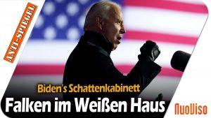 Bidens Schattenkabinett: Ein Schwarm aus Falken über dem Weißen Haus