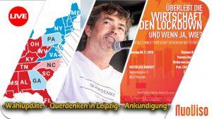 NuoViso Live: Wahlupdate – Querdenken – Ankündigung