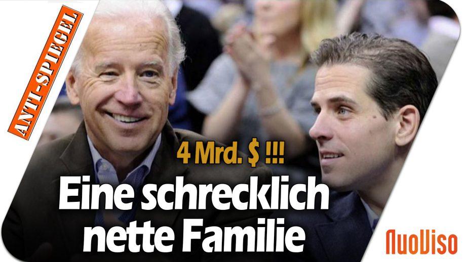 Über 4 Mrd. Dollar: Die größten Korruptionsfälle von Joe Biden