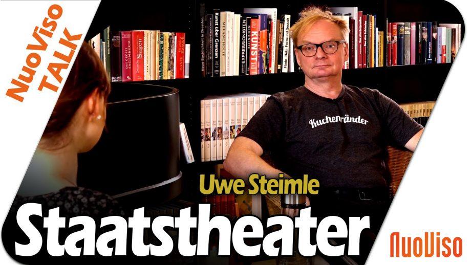 Staatstheater – Uwe Steimle im NuoViso Talk
