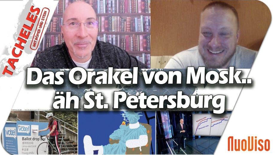 Das Orakel von Mosk…äh St. Petersburg – Tacheles #45