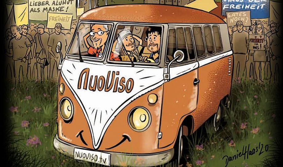 Daniel Haas signiert Comics im NuoViso Studio