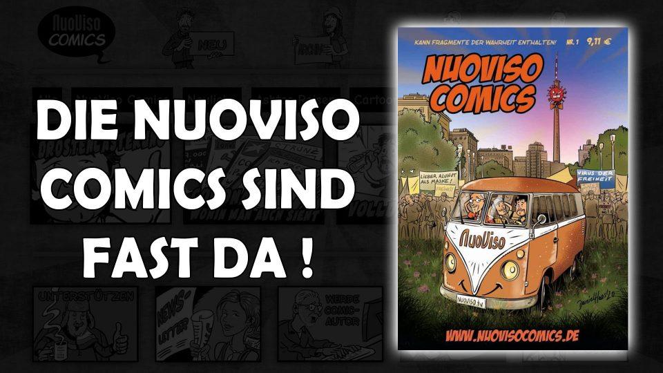 Die NuoViso Comics sind fast da…