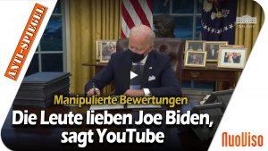 Wenn YouTube es sagt, müssen die Menschen Joe Biden mögen!