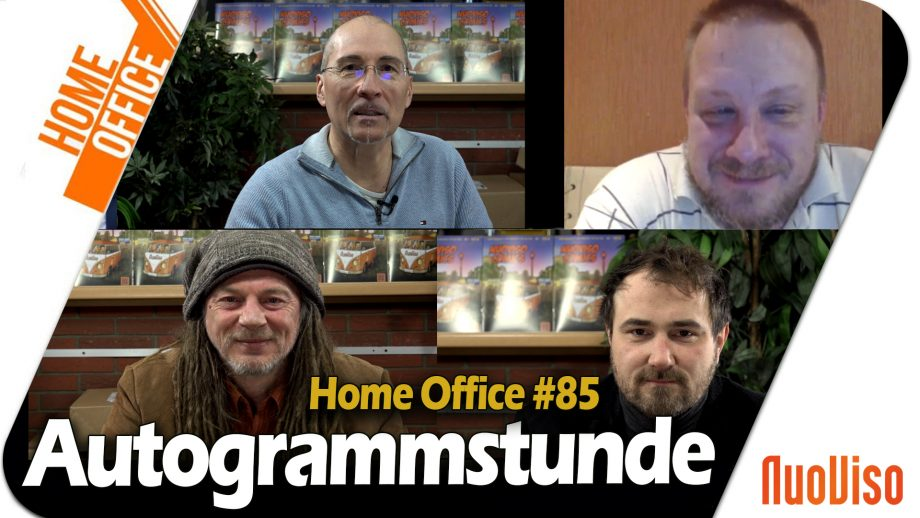 Home Office #85 – Autogrammstunde