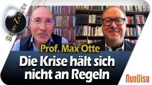 Die Krise hält sich nicht an Regeln – Max Otte im NuoViso Talk