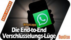 Neue WhatsApp-Regeln zeigen: Die End-to-End Verschlüsselung war eine Lüge