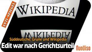 Süddeutsche Zeitung und Wikipedia: Was nicht passt, wird passend gemacht