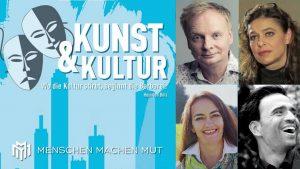 Menschen  machen Mut – Kunst & Kultur – mit U. Steimle, J.Neigel, H. Kreuziger und C v. Knobelsdorff