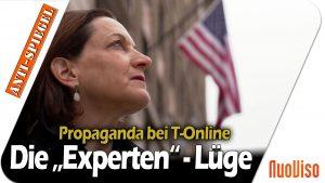 """Propaganda bei T-Online: Wie Leser von Interviews mit """"Experten"""" getäuscht werden"""