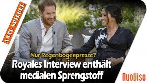 Nur Regenbogenpresse? Was das Interview von Harry und Meghan über die britischen Medien aussagt