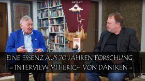 Eine Essenz aus 70 Jahren Forschung – Interview mit Erich von Däniken