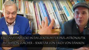 Exklusive Einblicke in das Zentrum für Prä-Astronautik (Ramon Zürcher – Sekretär Erich von Däniken)